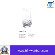 Machine Press-Blow Glass Tea Cup Glass Cup Kb-Hn01051
