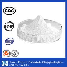 99% чистота Номер CAS: 57-63-6 Этинилэстрадиол этинилэстрадиола