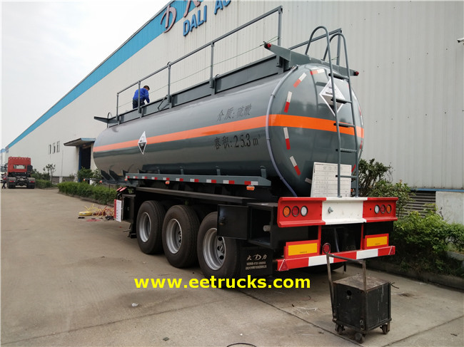 7000 Gallon Sulfuric Acid Transport Trailers