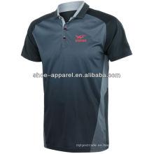 2014-2015 camisa de tenis sublimatin caliente polo