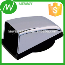 OEM & ODM Silver Plated Surface Plastic Cap