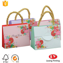 Hot wedding gift paper bag for candy