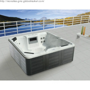Acrylic Garden spa pool Spa heater