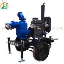 Pompe industrielle d'égout auto-amorçante de 6 pouces