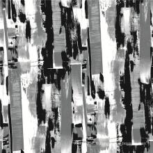 Tissu d'impression de pêche de laine tissée par polyester de la conception 100% de beauté (TLD-062)