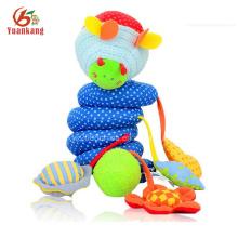 Brinquedo de suspensão do berço de bebê alegre personalizado em massa