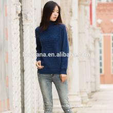 Красочные 100% кашемир женщин свитер схема