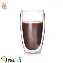 Copa de vidrio de doble pared de 450 ml (XLSC-001 450 ml)