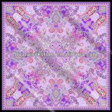 2014 Lenço de seda japonês novo do projeto