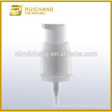 Pompe lotion plastique 18mm