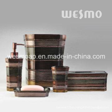 Medio Oriente estilo Polyresin accesorios de baño (WBP1123A)