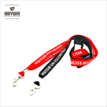 No Minimum Order High Quality Custom Logo Personalized Lanyards in Hot Sale Promotion Cheap Lanyard with Custom