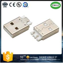 Micro USB Conector Mini USB Conector Micro Receptáculo USB Pequeno Receptáculo USB Fêmea USB para Ethernet Adaptador Mini USB Receptáculo USB Conector (FBELE)