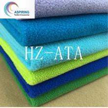 FDY Polar Fleece Printed Fabric for Bathrobe/Blanket Accept Custom-Made