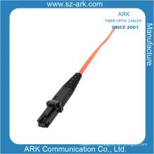 Многомодовый дуплексный волоконно-оптический кабель MTRJ-MTRJ / Патч-корд
