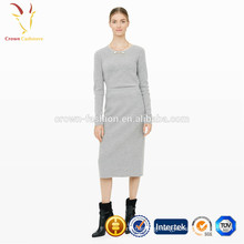 Cashmere Wool Cheap Tight Long Skirt For Women
