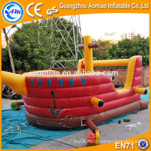 Kids inflatable bouncer house inflatable pirate ship sales