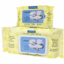 Нетканые влажные салфетки с смываемой крышкой смываемые влажные салфетки