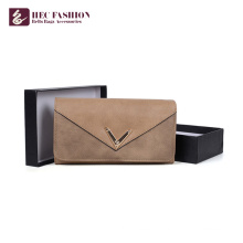 HEC Marke Fashion Style Pu-Leder Geldbörsen Damen Geldbörsen