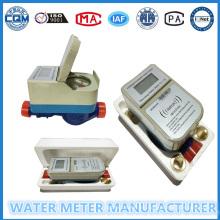 Medidor de flujo de agua individual prepago Un metro Una tarjeta