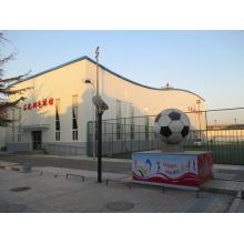 Stade de football de structure en acier