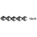 Hematites 6 faceta convexidad granos 10x10m m