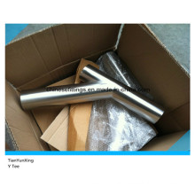 45 Degree Y Stainless Steel Lateral Tee