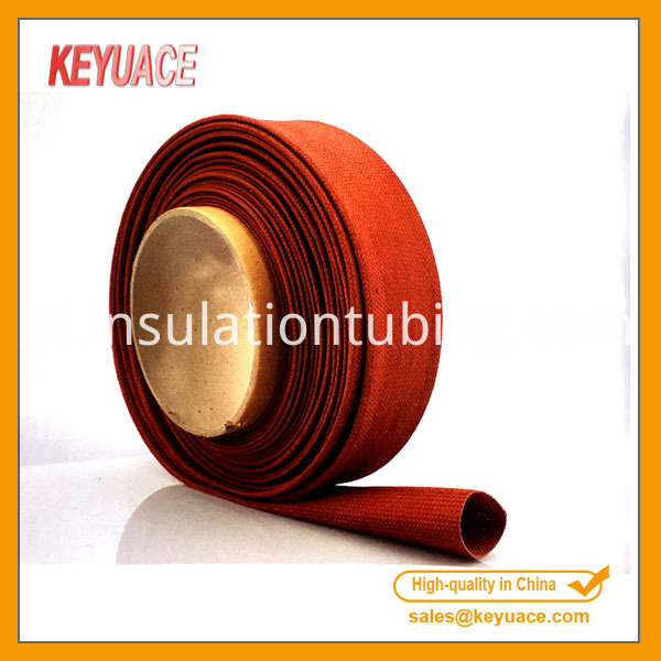 Red Braided Cable Sleeving