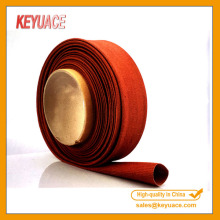Kaca Fiber Braided Fireproofing Sleeve