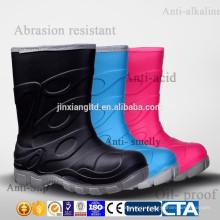 CE красочные ПВХ детей дождь сапоги & резиновые сапоги дождь дети