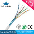 Vente chaude de haute qualité plenum cat5e cat6 utp stp cable avec certifications