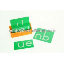 Montessori Hölzerne Buchstaben Spielzeug