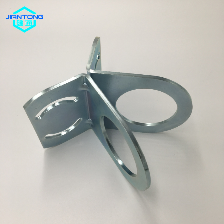 zinc plated steel stamping bending and cutting parts (1)