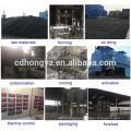 Carvão ativado colunar à base de carvão de enxofre impregnado remove Hg