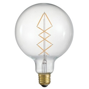 Factory Direct Sell G125 Decoration LED Bulb with 6.5W 2200k