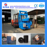 Long burning time honeycomb charcoal briquette machine