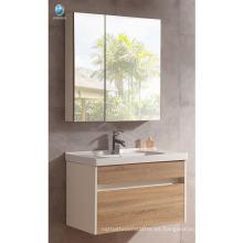 VT-083 Chino nuevo baño de diseño de cuarto de baño contrachapado baño armario montado en la pared del espejo del gabinete