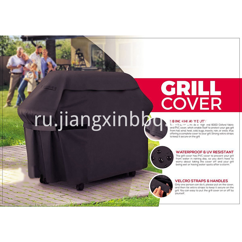 Premium 58 Inch Grill Cover Heavy Duty Gas Gri
