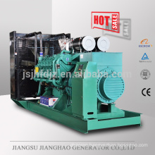 1700kw electric diesel power generator set with Googol engine , 1700kw diesel power generator price