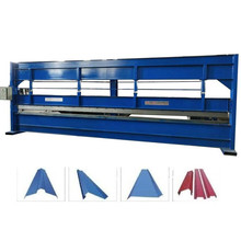 6 meter manual hydraulic bending roll forming machine