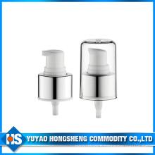 Pompe à crème 24mm avec aluminium pour cosmétiques et soins de la peau