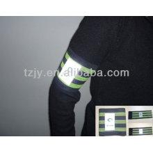 elastische reflektierende Armbinde