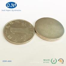Gerador magnético permanente do ímã do disco do diâmetro de 25mm