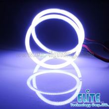 70mm White Angel Eyes full circle Halo Led Ring Light