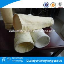 Bolso de filtro no tejido anti-temperatura de la fibra de vidrio de la alta calidad