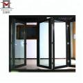 Portas de balanço interior de vidro 2018 porta de vidro de alumínio à prova de som