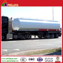 3 Achse 40-60cbm LKW-Öl-chemischer flüssiger Behälter-halb Anhänger