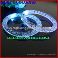 Pulseras LED parpadeantes para fiesta