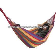 Outdoor Wholesale Camping Striped Hammock