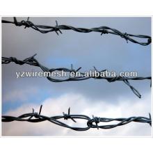 Fabricant de fil de fer barbelé à poids galvanisé pour l'Afrique du Sud